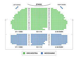 Jacobs Theater Seating Chart New August Wilson Theater