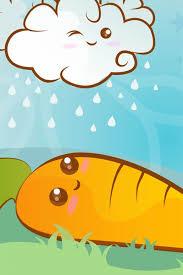 cute animated food wallpaper.  Food Cute Animated Food Wallpaper Cartoon Carrot 516x774 On