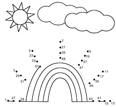 Connect The Dots Math Worksheets Many Interesting Cliparts