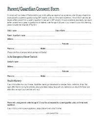 Medical Release Form For Child Cool Parental Medical Consent Form Template Emergency Medical Release