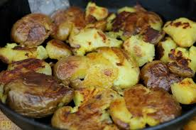 beautiful potato. Perfect Beautiful Smashed Potatoes With Resistant Starch And Beautiful Potato B