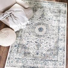 safavieh evoke round rug grey ivory vintage area 8 x size