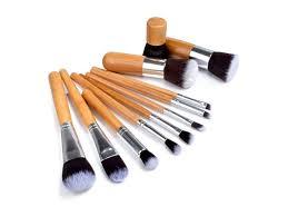 this makeup brush set can help you