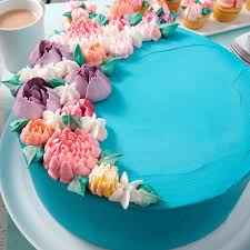 Blooming Floral Birthday Cake