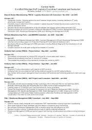 Sample Resume For Sap Mm Consultant Mulhereskirstin Info