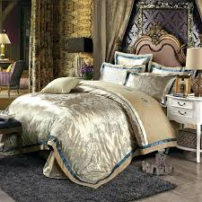 european style duvet cover set light tan retro print linens silk cotton jacquard queentan covers king