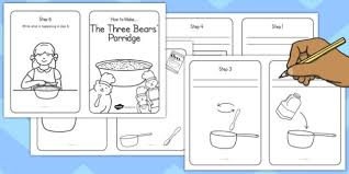 Step By Step Instruction Template Writing Your Own Porridge Instructions Template