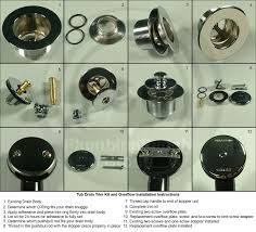 bathtub stopper repair bathtub drains and drain parts watco lidamama bathtub stopper repair