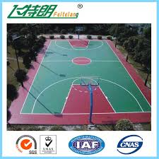 silicon pu sports flooring polyurethane floor paint outdoor basketball court paint