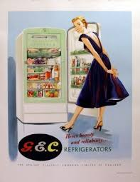 17 best ideas about general electric line diagram original vintage posters > advertising posters > general electric refridgerators antikbar