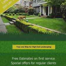 lawn care advertising templates gallery lawn care flyers templates flyer free template business