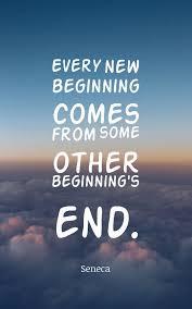 New Beginnings Fresh Start Quotes