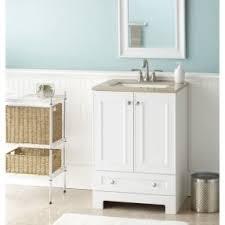 single sink white bathroom vanity. shop style selections emberlin white integral single sink bathroom vanity