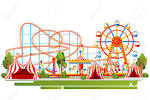 Image result for roller coaster cartoon