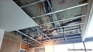 how false ceiling is installed