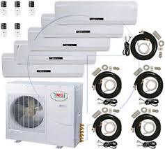 5 ton quint zone ductless split air conditioner 60000 btu 12000 x Sanyo Air Conditioner Wiring Diagrams image is loading 5 ton quint zone ductless split air conditioner sanyo air conditioning wiring diagrams