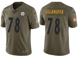Salute Service To Steelers Jersey