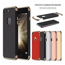 iphone 8 plus case luxury matte hard 3 in 1 protection case for iphone 8