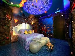 Little Mermaid Bedroom Decorating Ideas For New Home Disney Little Mermaid Bedroom