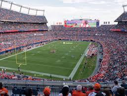 Broncos Stadium At Mile High Section 320 Seat Views Seatgeek