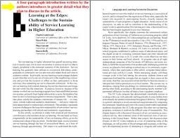Journal Article The Bedford Research Room Evaluating The Relevance Of A Scholarly