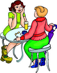 drinking coffee clipart. Delighful Clipart Friends Drinking Coffee  Clipart Library  Free Images With