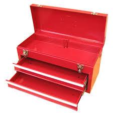 portable tool box metal. 20.1 in. w portable steel tool box metal