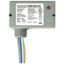 functional devices (rib) rib2401d enclosed relay 10amp dpdt 24vac Ribu1c Relay Wiring Diagram functional devices (rib) rib2401d enclosed relay 10amp dpdt 24vac dc 120vac at controls central rib relay ribu1c wiring diagram
