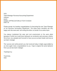Letter Of Gratitude To Boss Thanks Letter Boss For Appreciation Sample Thank You Letters Us
