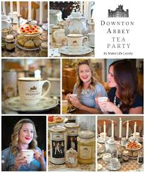 downton abbey tea party a giveaway