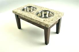 dog bowls on stands dog bowl stand wood dog bowl stand wood large image for dog dog bowls on stands