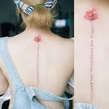 Tetování Na Záda Damske