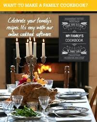 Online Cookbook Template Custom Cookbook Templates Family Template Recipe Book Cover