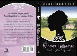 the widow s redeemer book cover philippa jane keyworth regency romances
