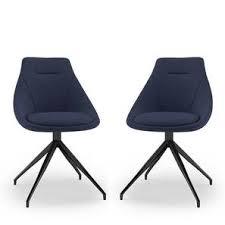 Doris <b>Swivel Dining Chairs</b> - Set Of 2 - Urban Ladder