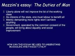 rise of italian fascism 5 mazzini s essay