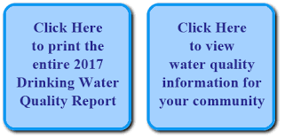 Image result for 2017 annual drinking water quality report