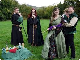 wiccan wedding. At One Pagan Handfasting Supplier Showcase Cat Treadwell