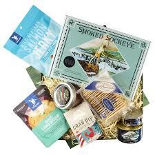 big blue gift basket