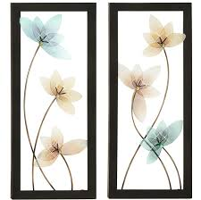 on framed wall art set of 2 with urban designs spring jewel 2 piece framed wall art set wayfair