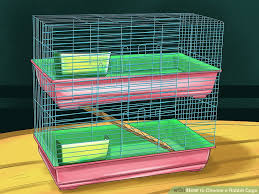 image titled choose a rabbit cage step 2
