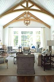 lighting for cathedral ceilings. Cathedral Ceiling Lighting Ideas High Contrast Living For Ceilings A
