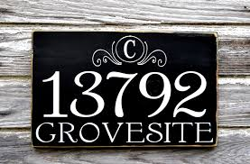 Wood Address Signs Outdoor Decor Custom Address Plaques Address Number Sign Board Outdoor House 2
