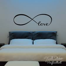 Bedroom Wall Quotes Magnificent Infinite Love Quote Wall Sticker Love Quotes Wall Decal Bedroom Wall