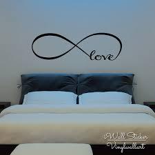 Bedroom Wall Quotes Enchanting Infinite Love Quote Wall Sticker Love Quotes Wall Decal Bedroom Wall