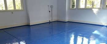 blue garage floor royal