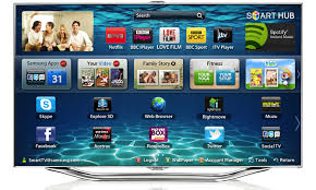 samsung smart tv png. samsung smart tvs are full of web connected awesomeness. you can access your favorite streaming apps such as netflix, hulu, and pandora, or even browse the tv png o