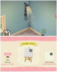 Made a shower drain! : AnimalCrossing