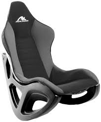 Rocking Gaming Chair Ak Rocker Video Game Black Colored Soft Back Pads  Floor Designed Chairs Product Amazing Gamers Equipment Great Series Item