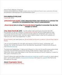 Press Release Sample Format Zaxa Tk